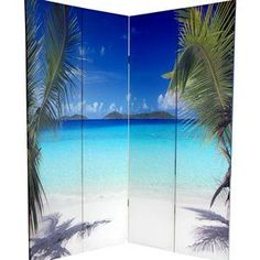 beach folding room dividers - Good for an office