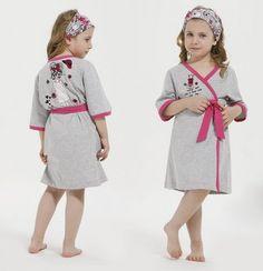 Выкройка махрового халатика для девочки