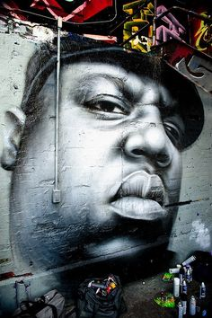 Creatively Placed Graffiti The Notorious B Artist Owen Dippie  Points Long Island City Queens Explore J