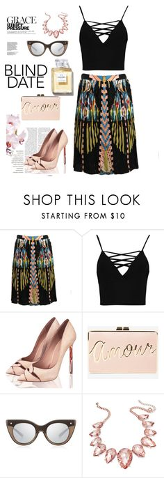 """Untitled #1141"" by pamela-802 on Polyvore featuring Givenchy, Boohoo, BCBGMAXAZRIA, Le Specs Luxe and Thalia Sodi"