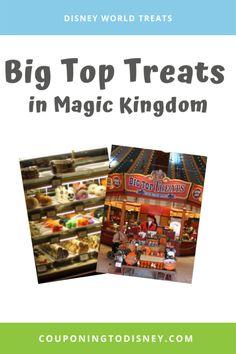 Big Top Treats in Magic Kingdom