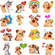 Cartoon Dog, Cute Cartoon, Love Stickers, Betty Boop, Planner Stickers, Bowser, Pikachu, Animation, Dogs