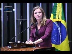 Vanessa Grazziotin volta a classificar de golpe defesa de impeachment de...