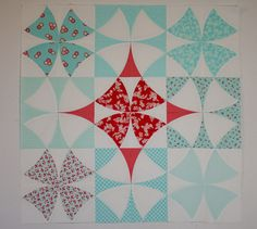 Hyacinth Quilt Designs: Chic Country Quilt Start