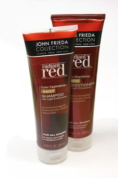 Tips For Vibrant Red Hair | How to be a Redhead #JohnFrieda #VibrantRed Hair