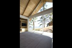 Bowen Island Residence_g — burgers architecture Bowen Island, Ross Fisher, Roof Pitch, Cabin, Windows, Architecture, Seasons, Home, Design