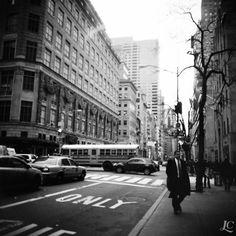 https://flic.kr/p/PGcQxz | NYC, one & only | > Camera: Diana F+ > Film: Kodak Tri-X 400  © All rights reserved
