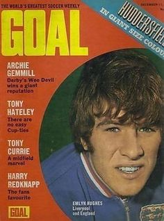 GOAL-football-magazine-11-12-71-COVER-picture-Liverpool-England-EMLYN-HUGHES