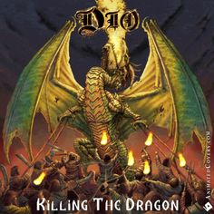 DIO - Killing The Dragon (animated cover artwork GIF) #dio #killingthedragon #ronniejamesdio #heavymetal #truemetal #powermetal #metal #rock #metalhead #metalheads #threshmetal #blacksabbath #rainbow #animatedcovers #gifcovers #gif #gifs
