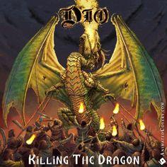 DIO - Killing The Dragon (animated cover artwork GIF) #dio #killingthedragon #ronniejamesdio #heavymetal #truemetal #powermetal #metal #rock #metalhead #metalheads #threshmetal #blacksabbath #rainbow #animatedcovers #gifcovers #gif #gifs