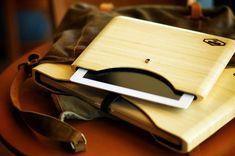 Bamboo Blackbox iPad and Macbook Case
