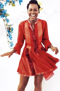 Lupita Nyong'o in BAZAAR
