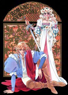 """花冠のマドンナ, さいとうちほ - Art from """"Madonna Of The Flower Crown"""" series by manga artist & """"Revolutionary Girl Utena"""" creator Chiho Saito."""