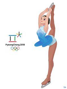 PyeongChang 2018 - Olympic Winter Games, Hong SoonSang on ArtStation at https://www.artstation.com/artwork/3NakJ