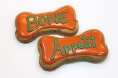 Peanut Butter Dog Bones Recipe