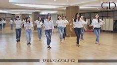 JERUSALEMA EZ - LINE DANCE (Colin Ghys & Alison Johnstone)