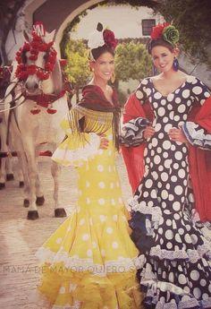+ QUE MODA FLAMENCA   Mamá de mayor quiero ser flamenca
