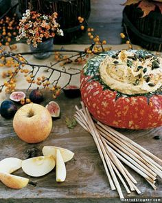 See the Winter Squash Dip in our Thanksgiving Appetizers gallery