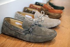 Moccasins: because nothing shows you're culturally diverse than wearing the traditional footwear of the people your ancestors all but wiped out.