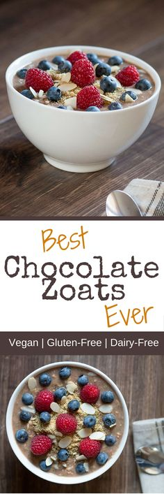Best Chocolate Zoats Recipe Ever Never heard of zoats before? Zoats are a fabulously healthy and nutritious way to start your day. Get the recipe now to find out what they are!