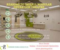 Why choose modular operation theatre to install in healthcare industry? Contact: +91 8017002189 | 9051322674