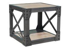 STOLIK REGAŁ SKRZYNIA stół stoły industrialny loft