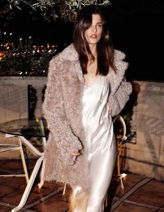 FOR STYLE INSPIRATION || Silk slips & fur coats || NOVELA BRIDE...where the modern romantics play & plan the most stylish weddings... www.novelabride.com @novelabride #jointheclique
