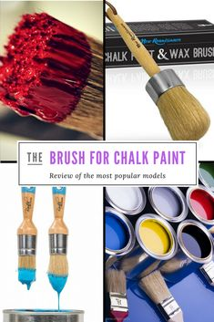 Here is list of Top 5 Best Chalk Paints Brushes in 2018. Cons, pros, and features of the most popular brands.