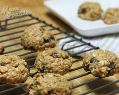 Peanut Butter Oatmeal Chocolate Chip Cookies (gluten-free)