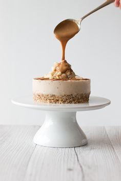 Salted caramel macadamia cheesecake.