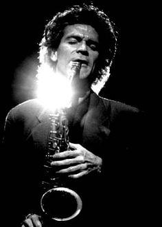 David Sanborn, my primary influence on sax.