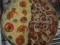 Pizza com pis