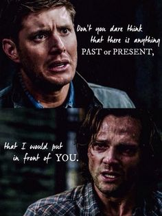 Image result for supernatural don't you dare think