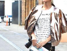 10 Ways to Wear Metallics