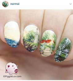 #lighthousenailart #naildesign#nailart