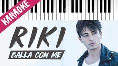 Riccardo Marcuzzo (RIKI)   Balla Con Me   AMICI 16 // Piano Karaoke con ...