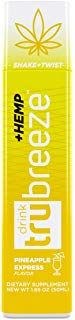 Tru Breeze Drink - Natural Keto Relaxation Supplement Plus Hemp - Flavored Pineapple Express (12) - $39.99 - 4.9 out of 5 stars - Vegan Supplements Pineapple Express, Hemp, Breeze, Relax, Stars, Drinks, Natural, Drinking, Beverages