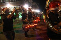 Light up the drum sets!