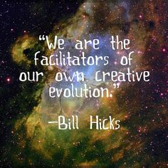 "I read this, "" we are facilitators of our own evil creations."" Which quote do you like best? HA!"