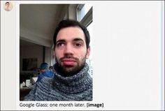 Google Glass eyes