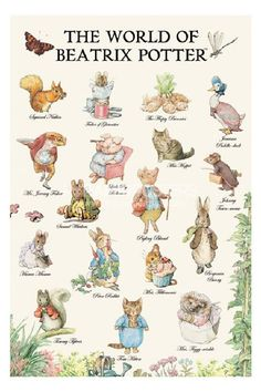 Mrs Potter who shares a birthday with my Nicky. She was the first children's book author to have her books printed in color.