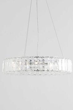 Renee Crystal Pendant Light | BHS