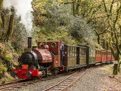 Talyllyn Railway: The Talyllyn lands on the list for being the most adorable train trip we could find.