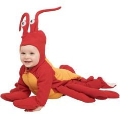Sweet lobster babies (I don't mean to be rude, but those pieces don't go together.)