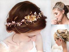 wianek fryzura ślubna - Szukaj w Google