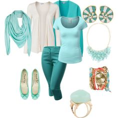 DYT type 1 collection 13 - love it! - great colours, jewelry and flats