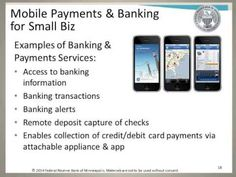 Making and Receiving Payments - Online and Mobile