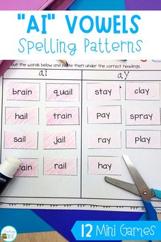 Looking for engaging vowel teams worksheets and activities to help your kindergarten, first grade or second grade students learn the long vowel spelling patterns? These pages get kids spelling and writing words with vowel teams in them. Introduce the vowel team with the posters and then consolidate them with the worksheets and activities. #vowelteams #phonicsworksheets