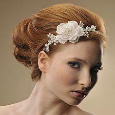 Handmade Charlotte Wedding Headpiece - hats, hairpieces & hair clips