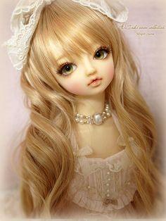 Dollfie com cara de jolie rsrs num guento! ルナのお顔。と、近況。の画像